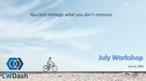 CWDash Workshop July 2020